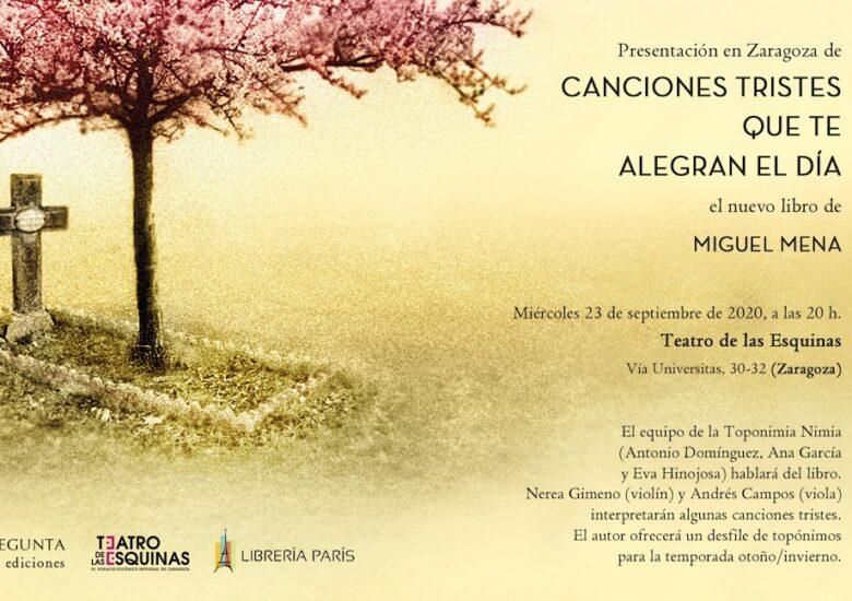 El escritor y periodista Miguel Mena presenta nuevo libro.