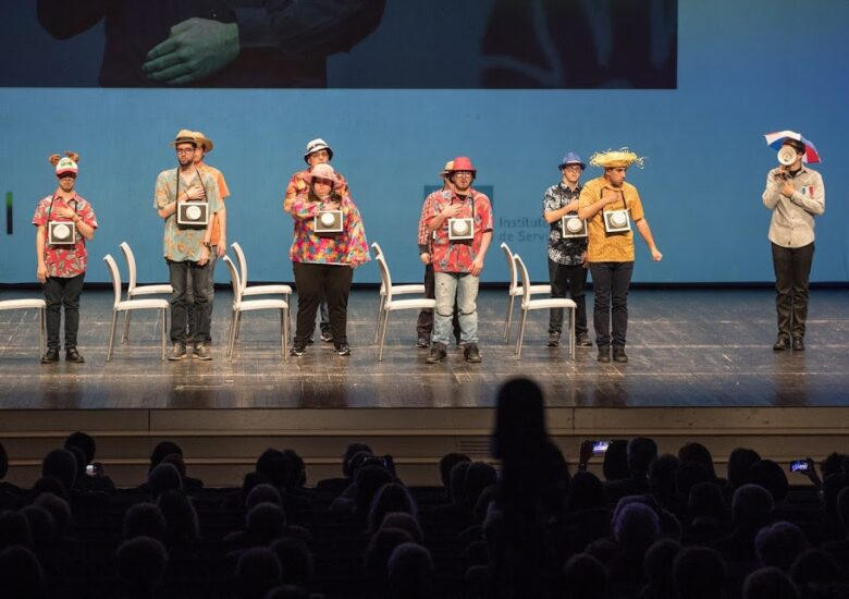 El Taller de teatro del Servicio de Ocio y Desarrollo Personal de Fundación CEDES, finalista de los Premios Cuarto Pilar, por su labor inclusiva a través de las artes escénicas